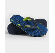 Superdry Slippers Flip Flop Blauw (MF310009A - ZQZ)