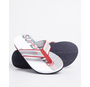 Superdry Slippers Flip Flop Wit (MF310011A - 01C)