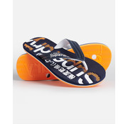 Superdry Slippers Flip Flop Navy (MF310034A - 11S)