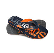 Superdry Slippers Flip Flop Navy/Oranje (MF3105ET - W2X)