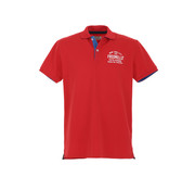 Fred Mello Polo Rood (FM20S01QU - Red)