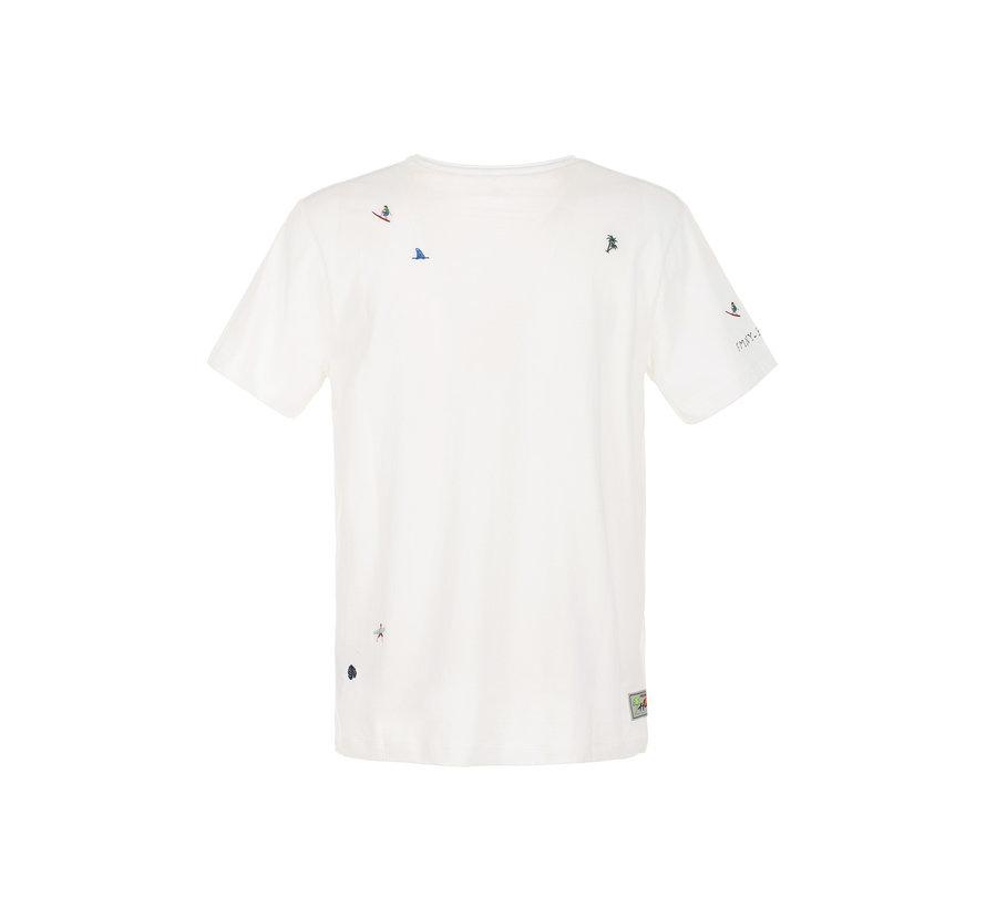 T-shirt Wit (FM20S26TG - Off White)