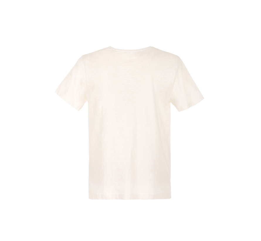 T-shirt Wit (FM20S06TG - Off White)