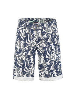 A Fish Named Fred Korte Broek Jungle Print Beige (91.03.204)