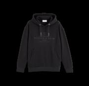 Scotch & Soda Hooded Sweater Zwart (156782 - 0008)
