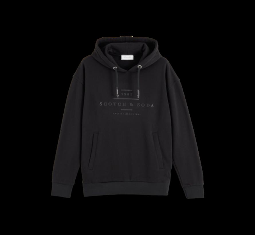Hooded Sweater Zwart (156782 - 0008)