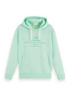 Scotch & Soda Hooded Sweater Groen (156782 - 3601)