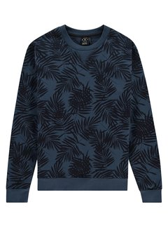 Kultivate Kultivate Sweater SW Garden Party Navy (2001011007 - 440)