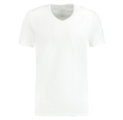 Kultivate T-shirt V-Hals Rodi Wit (9901000206 - 200 - White)