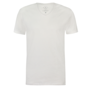 Kultivate T-shirt V-Hals Ric Wit (9901000204 - 200 - White)