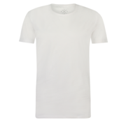 Kultivate T-shirt Ronde Hals Extra Lang Ravi Wit (9901000202 - 200 - White)