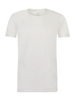 Kultivate T-shirt Ronde Hals Extra Lang Ravi Wit (9901000202 - 200 - White)