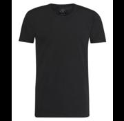 Kultivate T-shirt Ronde Hals Ravi Zwart (9901000202 - 100 - Black)