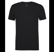 Kultivate T-shirt Ronde Hals Raf Zwart (9901000200 - 100 - Black)
