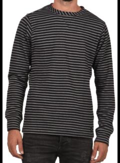 Dstrezzed Sweater Gestreept Navy (261010D - 649)