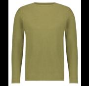 Kultivate Pullover KN Melvin Washed Groen (1801010802 - 166)