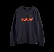 Scotch & Soda Sweater Navy Blauw (156784 - 0002)