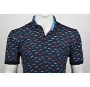 Culture Polo Modern Fit Print (215275 - 38)