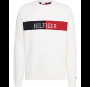 Tommy Hilfiger Ronde Hals Sweater Wit (MW0MW13040 - YBR)