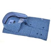 Culture Overhemd Modern Fit Print Blauw (215155 - 36)