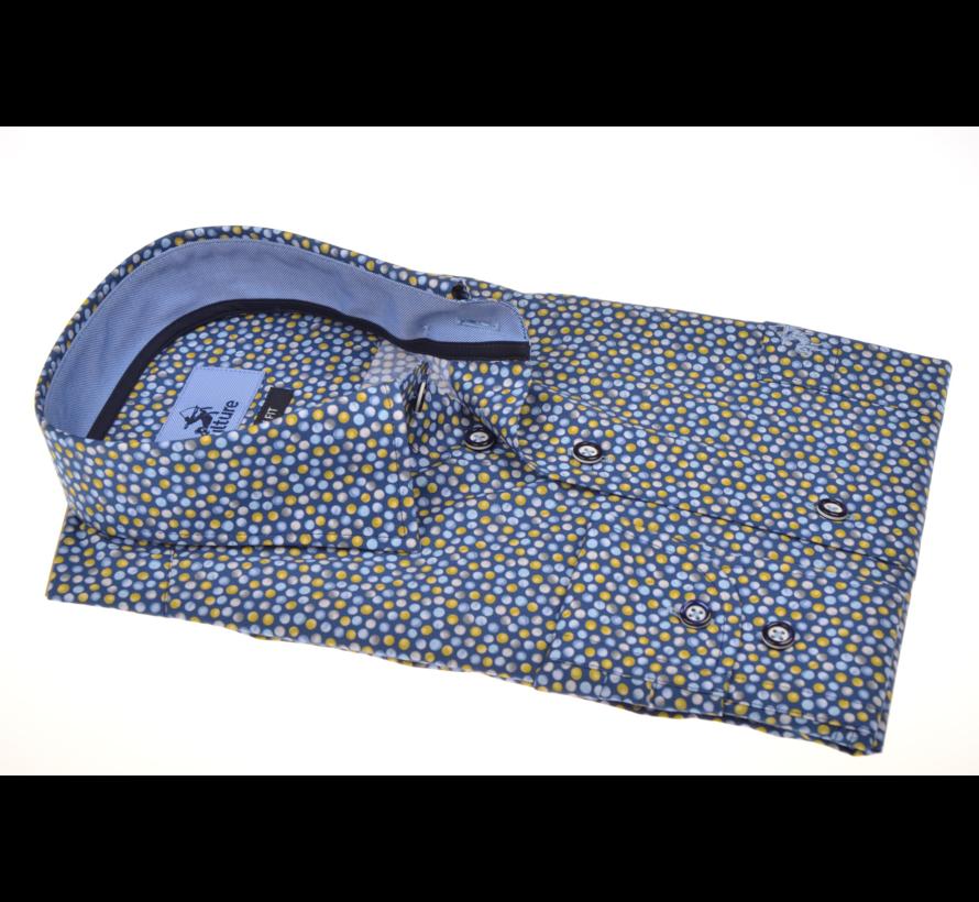 Overhemd Modern Fit Print Multicolor (215156 - 94)