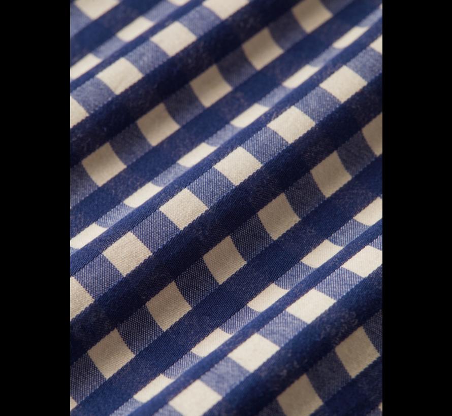 Overhemd Regular Fit Ruit Blauw (158412 - 0219)