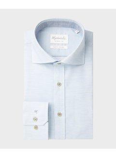 Michaelis Overhemd Slim Fit Twill Licht Blauw (PMRH100007)