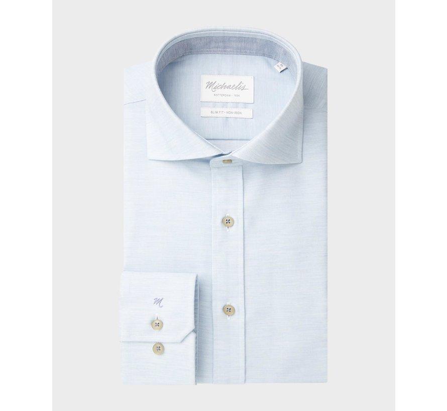 Overhemd Slim Fit Twill Licht Blauw (PMRH100007)
