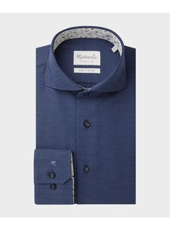 Michaelis Overhemd Slim Fit Oxford Navy (PMRH100022)