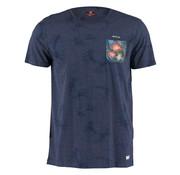 New Zealand Auckland T-shirt Ronde Hals Panguru Navy (20CN724 - 269)