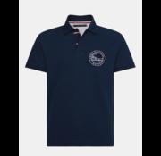 Tommy Hilfiger Polo Regular Fit Navy Blauw (MW0MW13095 - DW5)