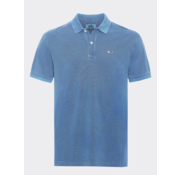 Tommy Hilfiger Polo Regular Fit Blauw (DM0DM07800 - CZY)
