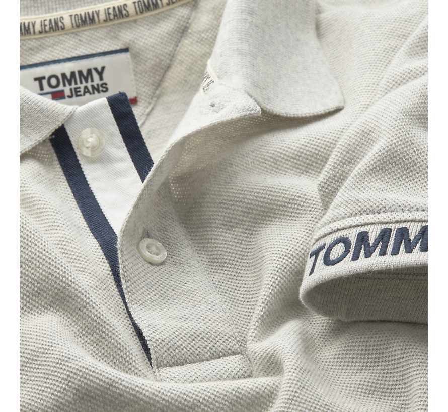 Tommy Hilfiger Polo Grijs (DM0DM07802 - PPP)