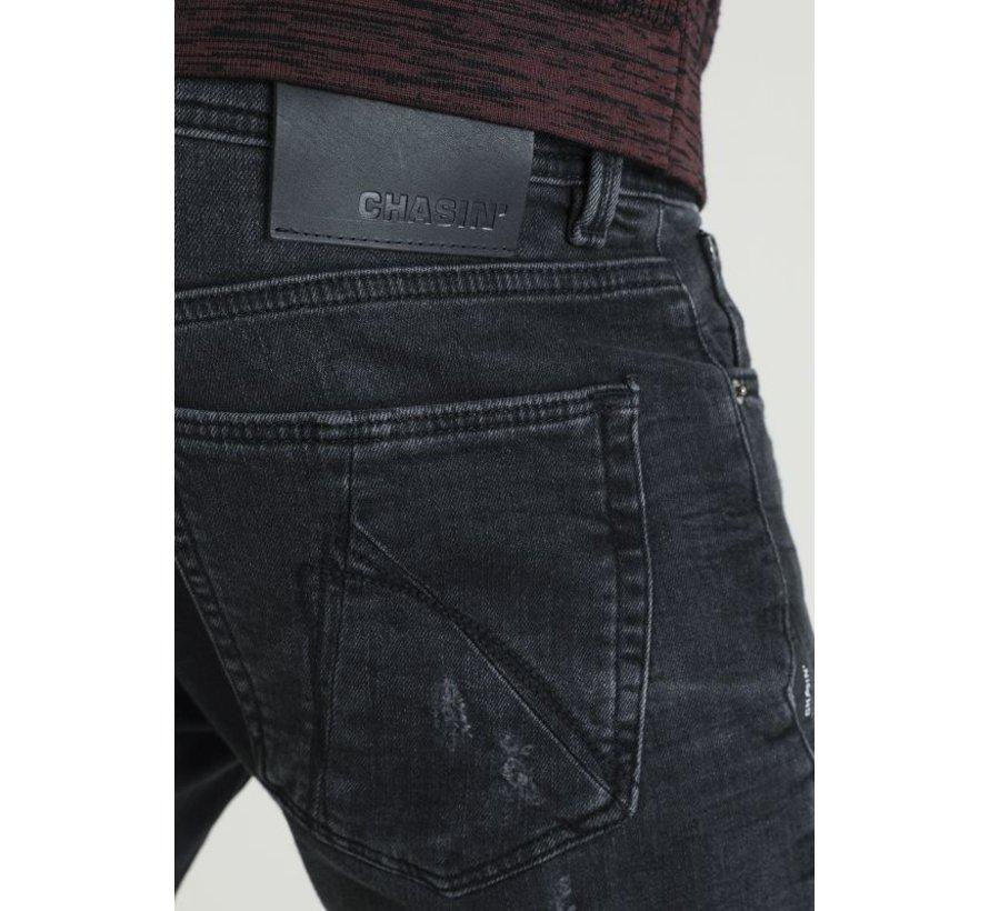 Jeans Slim Fit EGO COLOMBO Zwart/Grijs (1111.400.036 - E00)