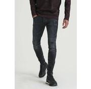 CHASIN' Jeans Slim Fit EGO COLOMBO Zwart/Grijs (1111.400.036 - E00)