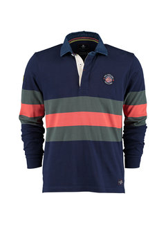 New Zealand Auckland Polo Lange Mouw Marks Tarn Multicolor (20GN200 - 261)