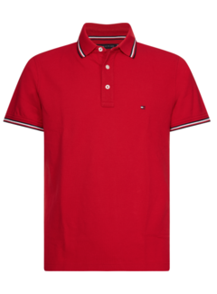 Tommy Hilfiger Polo Slim Fit Rood (MW0MW13080 - XLG)