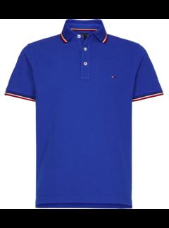 Tommy Hilfiger Polo Slim Fit Blauw (MW0MW13080 - C7D)