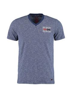 New Zealand Auckland T-shirt V-Hals Cambridge Navy (20GN722 - 263)