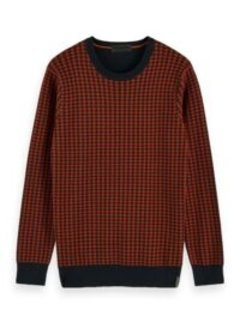 Scotch & Soda Pullover Navy/Oranje (158626 - 0219)