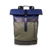 Scotch & Soda Backpack Navy/Groen (158695 - 0217)