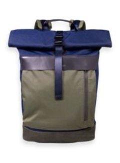 Scotch & Soda Backpack Navy/Groen (158695 - 0217)
