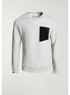 CHASIN' Sweater BULLET Wit (4111.219.113 - E11)