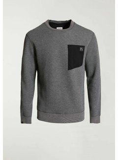 CHASIN' Sweater BULLET Antraciet Grijs (4111.219.113 - E91)