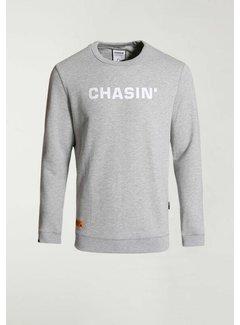 CHASIN' Sweater DUELL SWEAT Licht Grijs (4111.219.114 - E81)
