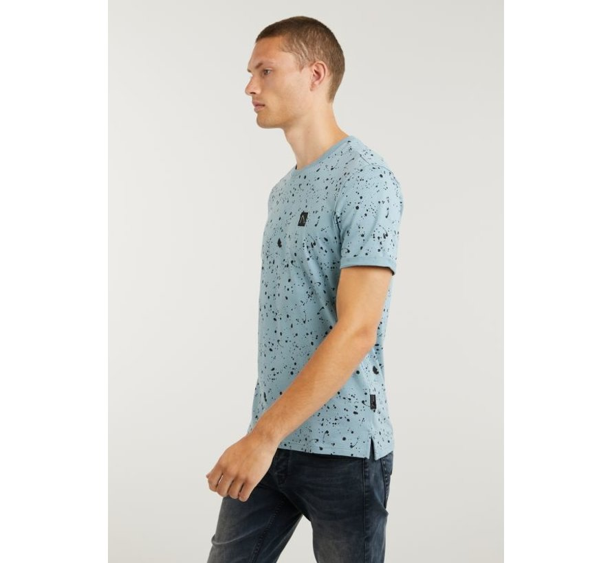 T-shirt Ronde Hals LEO Blauw (5211.400.138 - E64)