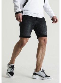 CHASIN' Korte Broek Jeans EGO .S SUSSEX Zwart (1311.400.010 - E00)