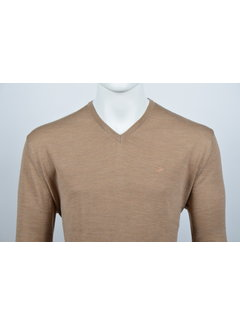 Culture Pullover V-Hals Bruin (215300 - 43)
