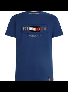 Tommy Hilfiger T-shirt Icon Rope Blauw (MW0MW13342 - C7H)