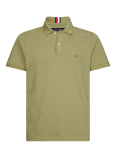 Tommy Hilfiger Polo Slim Fit Groen (MW0MW13540 - L9F)